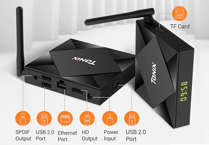 Tanix TX6S Allwinner H616 TV Box