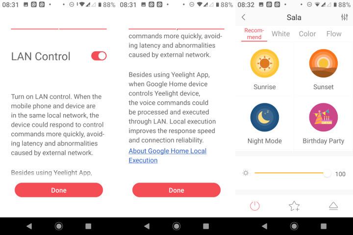 Yeelight App LAN Control