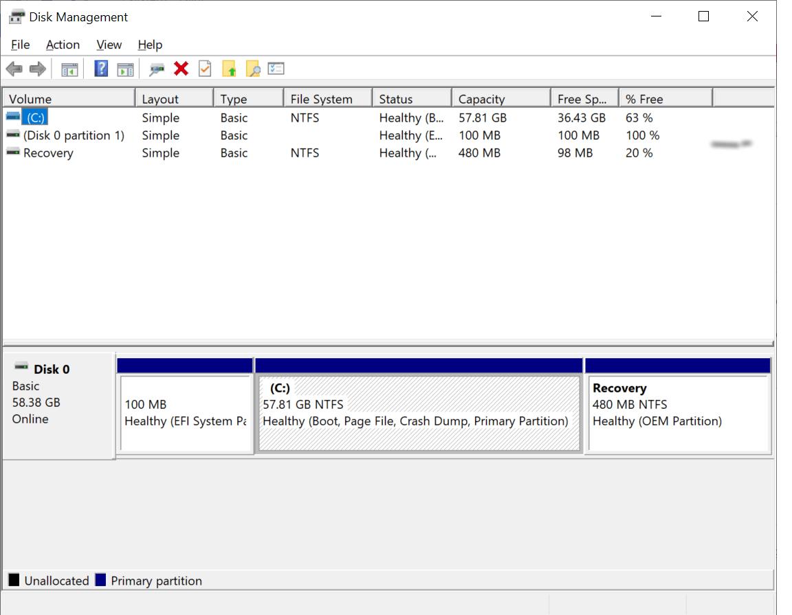 disks management