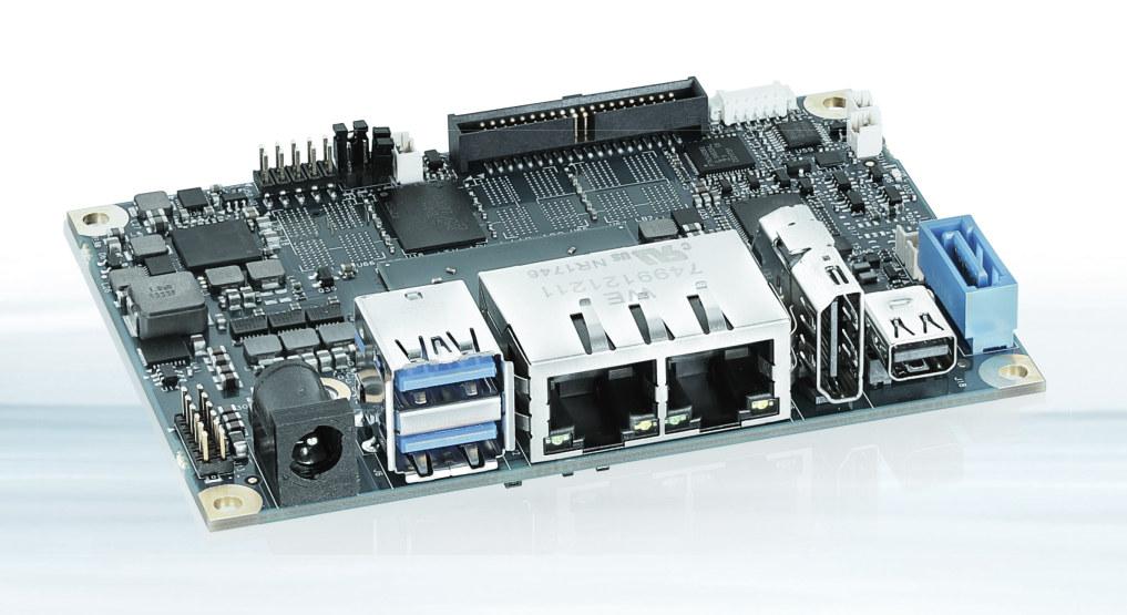 2.5-inch Pico-ITX SBC: pITX-APL v2.0