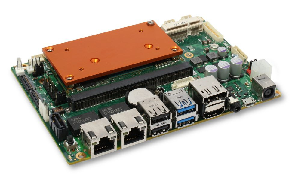 3.5-inch carrier board with NXP i.MX8 SMARC Module