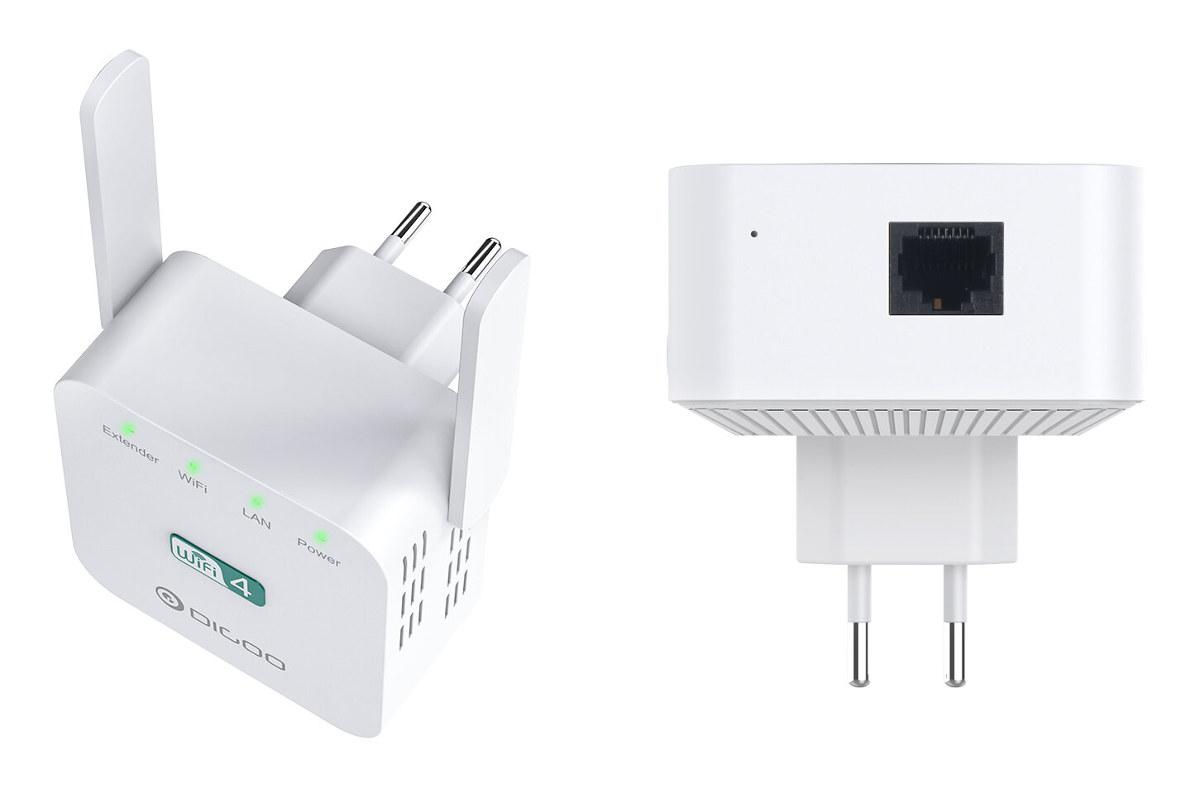 Cheap WiFi Repeater Dual Antenna