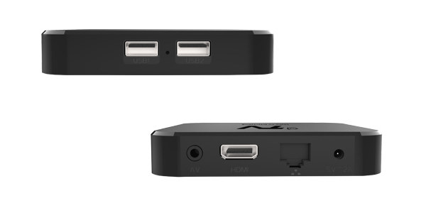 DV9038 TV Box Ports