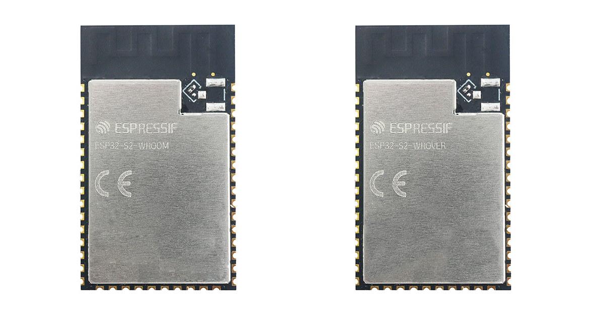 ESP32-S2-WROOM & ESP32-S2-WROVER