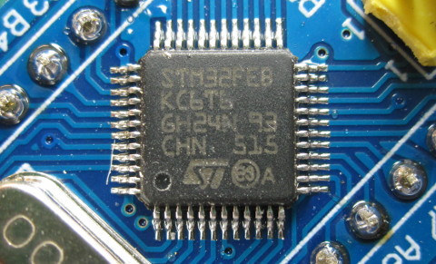 Fake STM32 Chip
