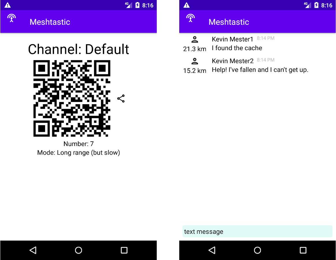 Meshtastic Android App