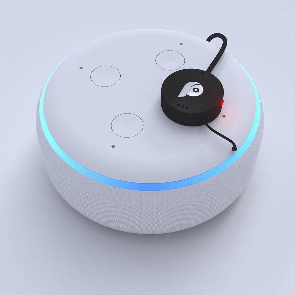 Paranoid Smart Speaker Button