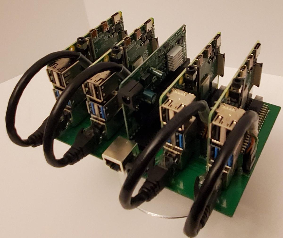 Raspberry Pi 4 Cluster