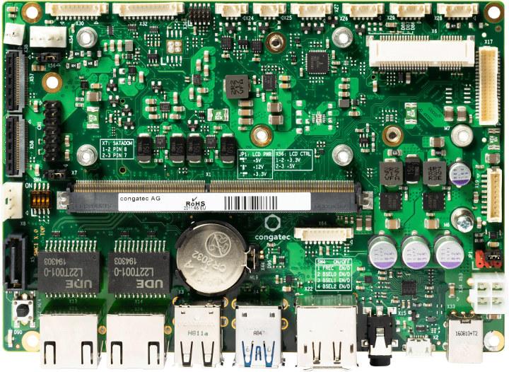 conga-SMC1 carrier board