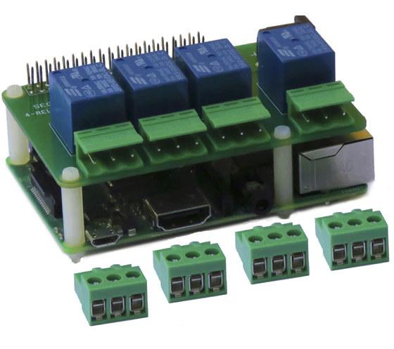 250V Relay Board Raspberry Pi
