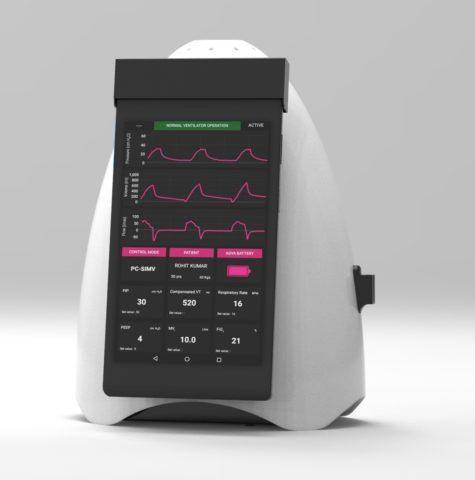 AgVa Phone Ventilator