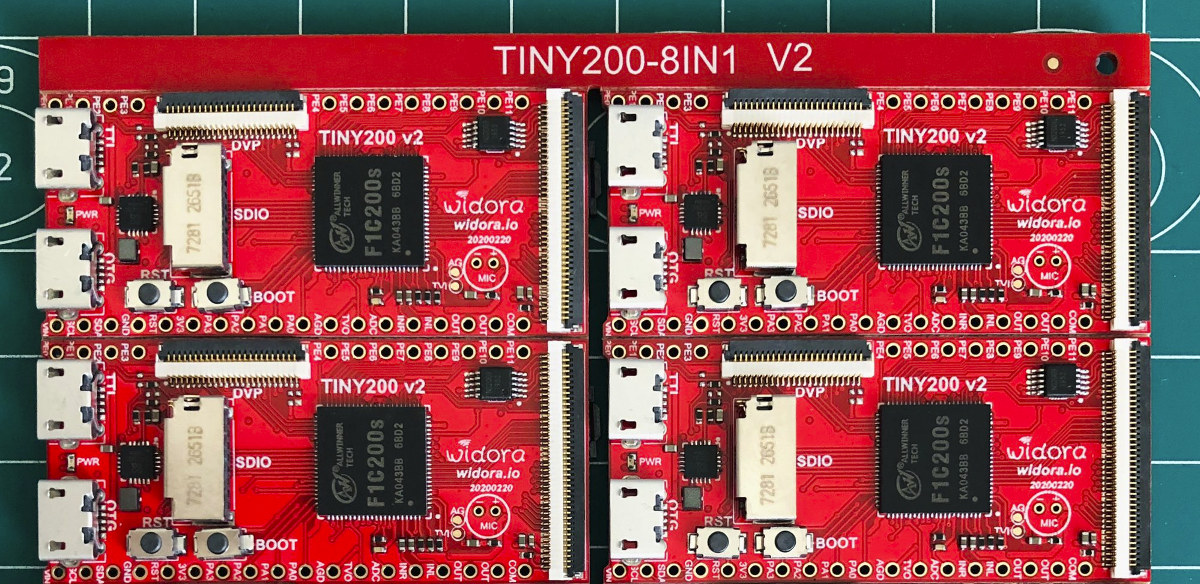 Allwinner F1C200s ARM9 Development Board