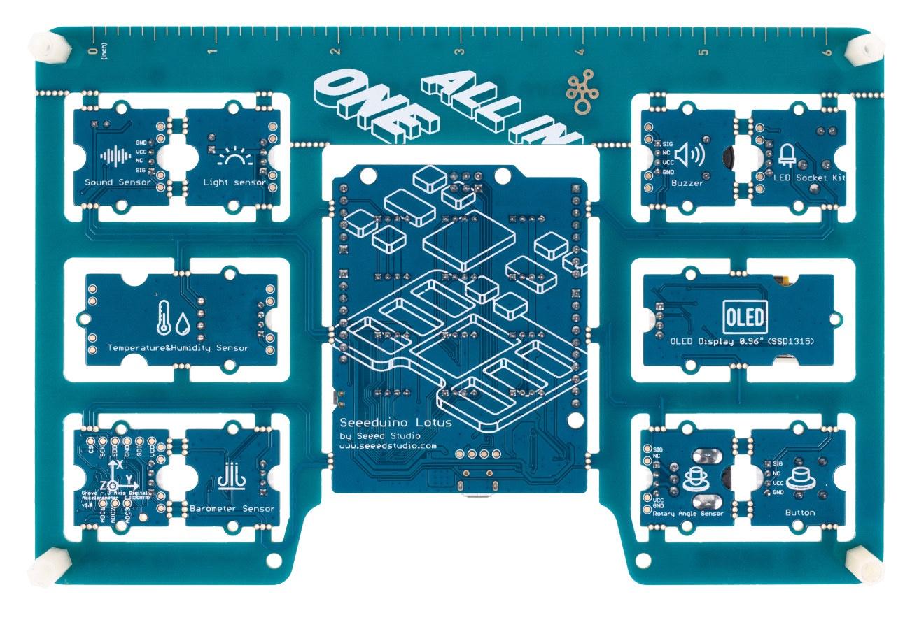 Arduino Board Pre-wired Grove Modules