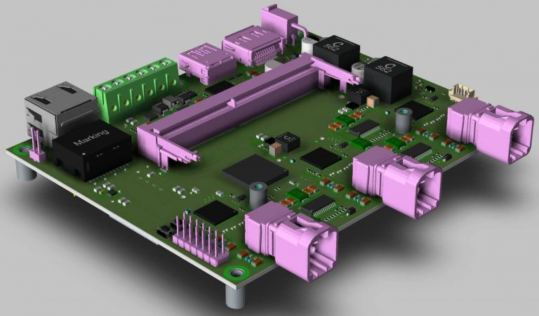 D3 Engineering DesignCore-Carrier-Board Jetson Xavier NX