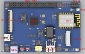 Edgeless EAI80 Development Board