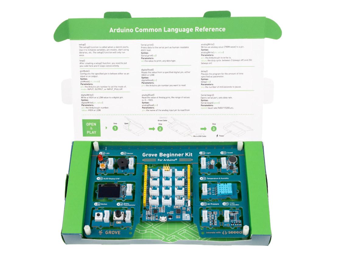 Grove Beginner Kit for Arduino Package