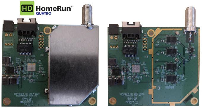 HDHomeRun QUATRO 4K ATSC 3.0 Board