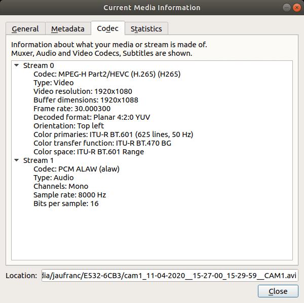 HeimVision HM241 Video Audio Codec