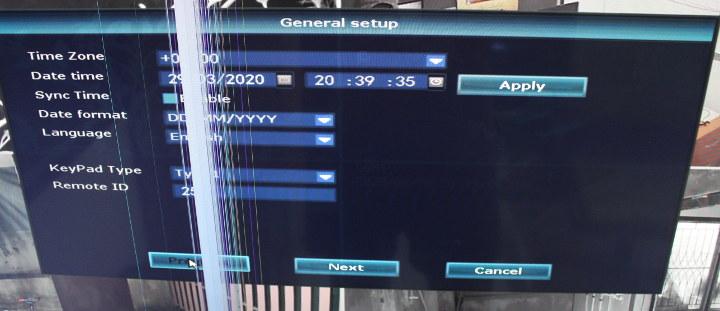 HeimVision NRV General Setup