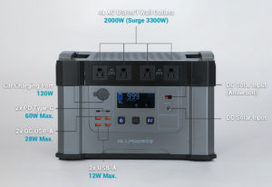 MONSTER X Portable Power Station