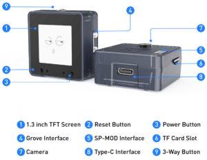 MaixCube All-in-one K210 Development Platform