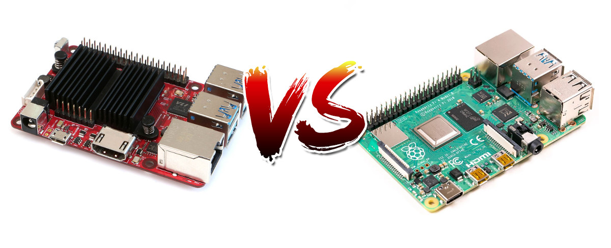 ODROID-C4 vs Raspberry Pi 4