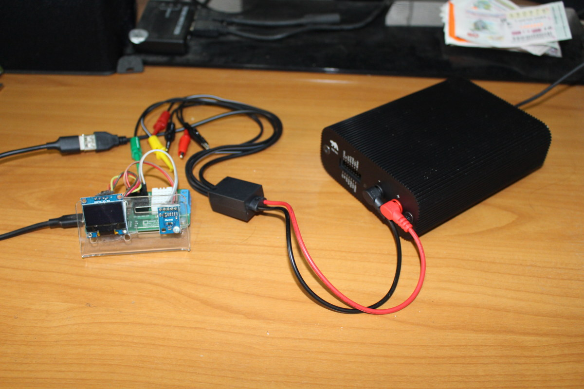 Otii Arc ESP8266 ANAVI Thermometer