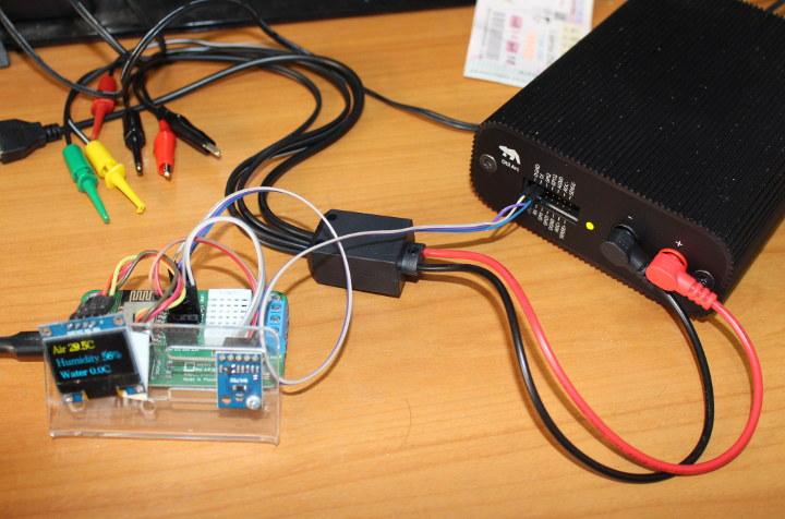 Otii Arc ESP8266 UART console