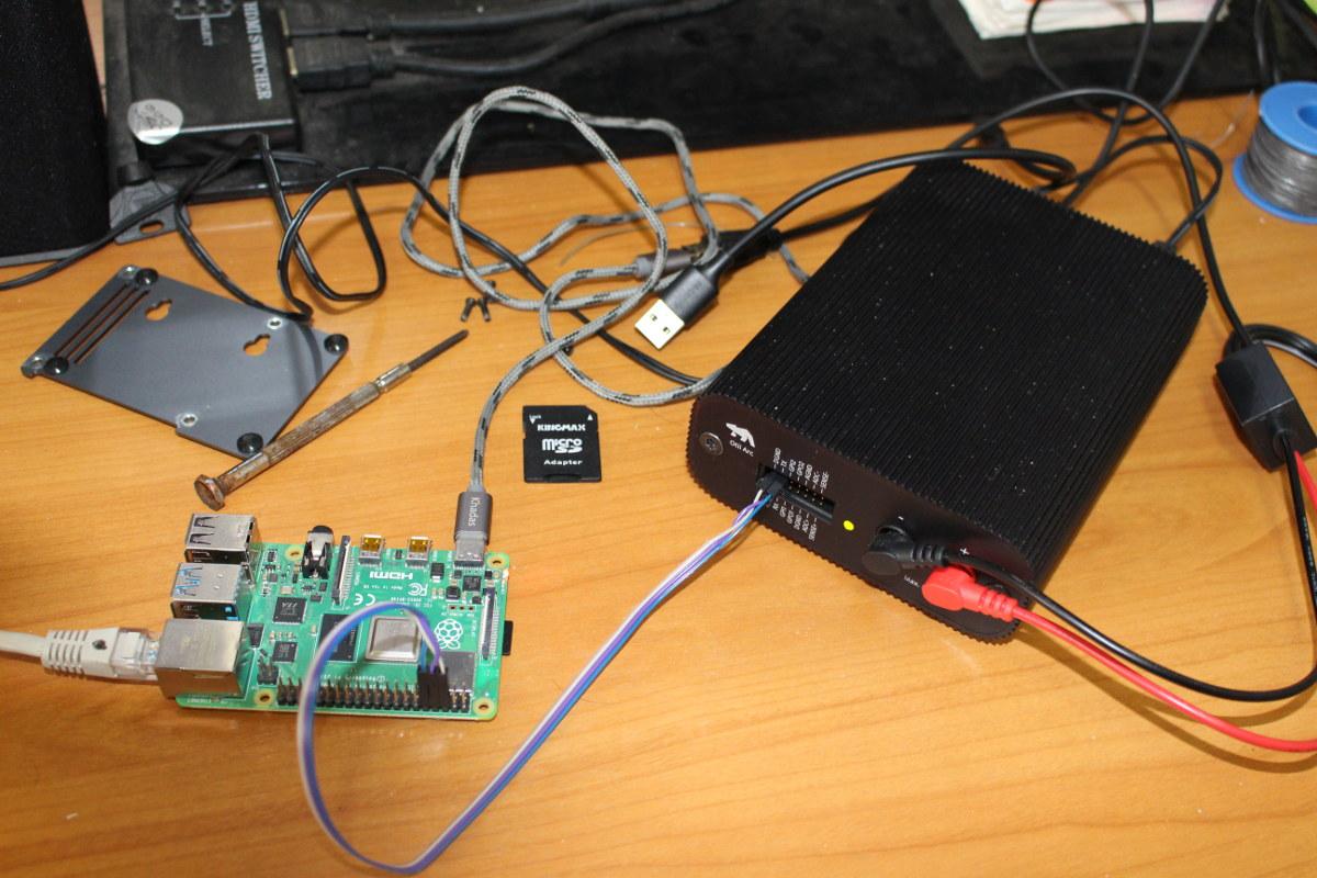 Qoitech Otii Arc Raspberry Pi 4