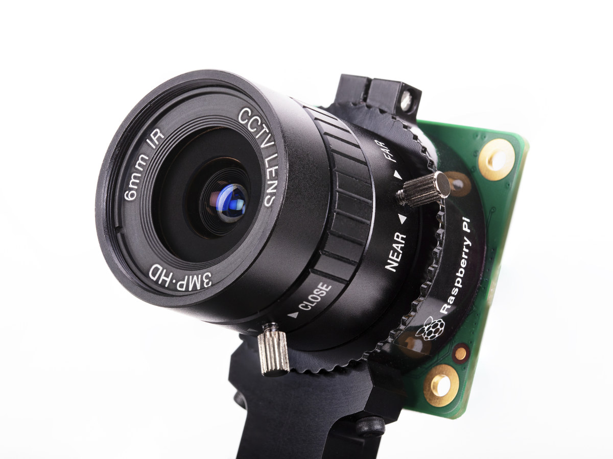 Raspberry Pi camera module gets interchangeable lens support