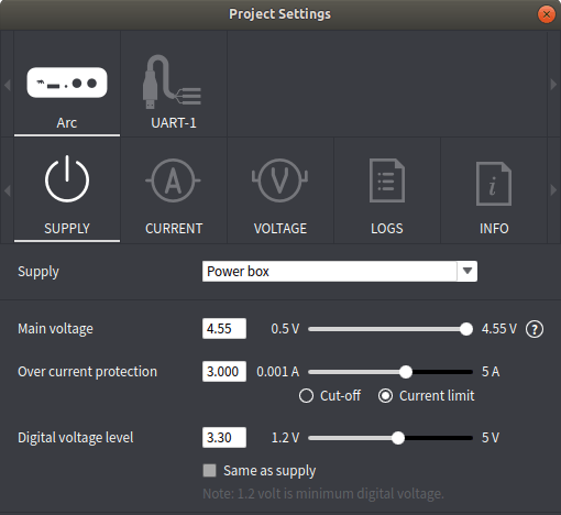 Raspberry Pi Power Settings