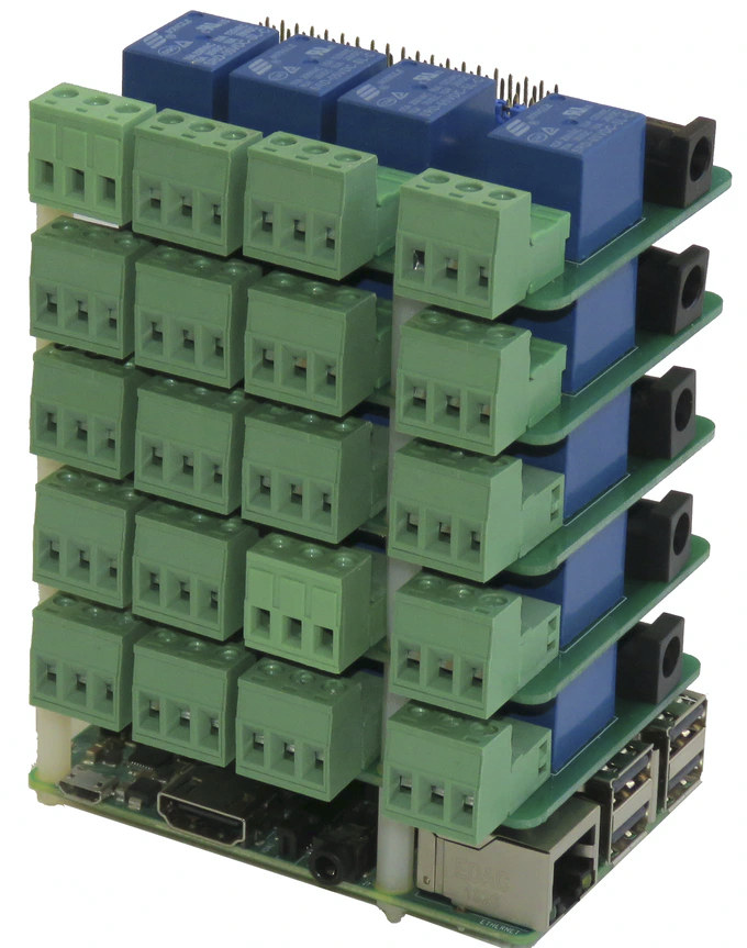 Stackable Relay HAT Raspberry Pi