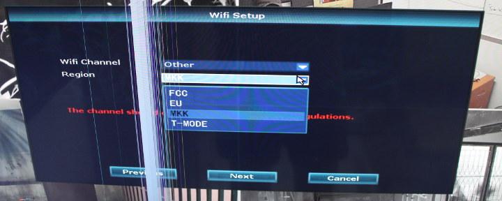 WiFi FCC/EU MKK T-Mode