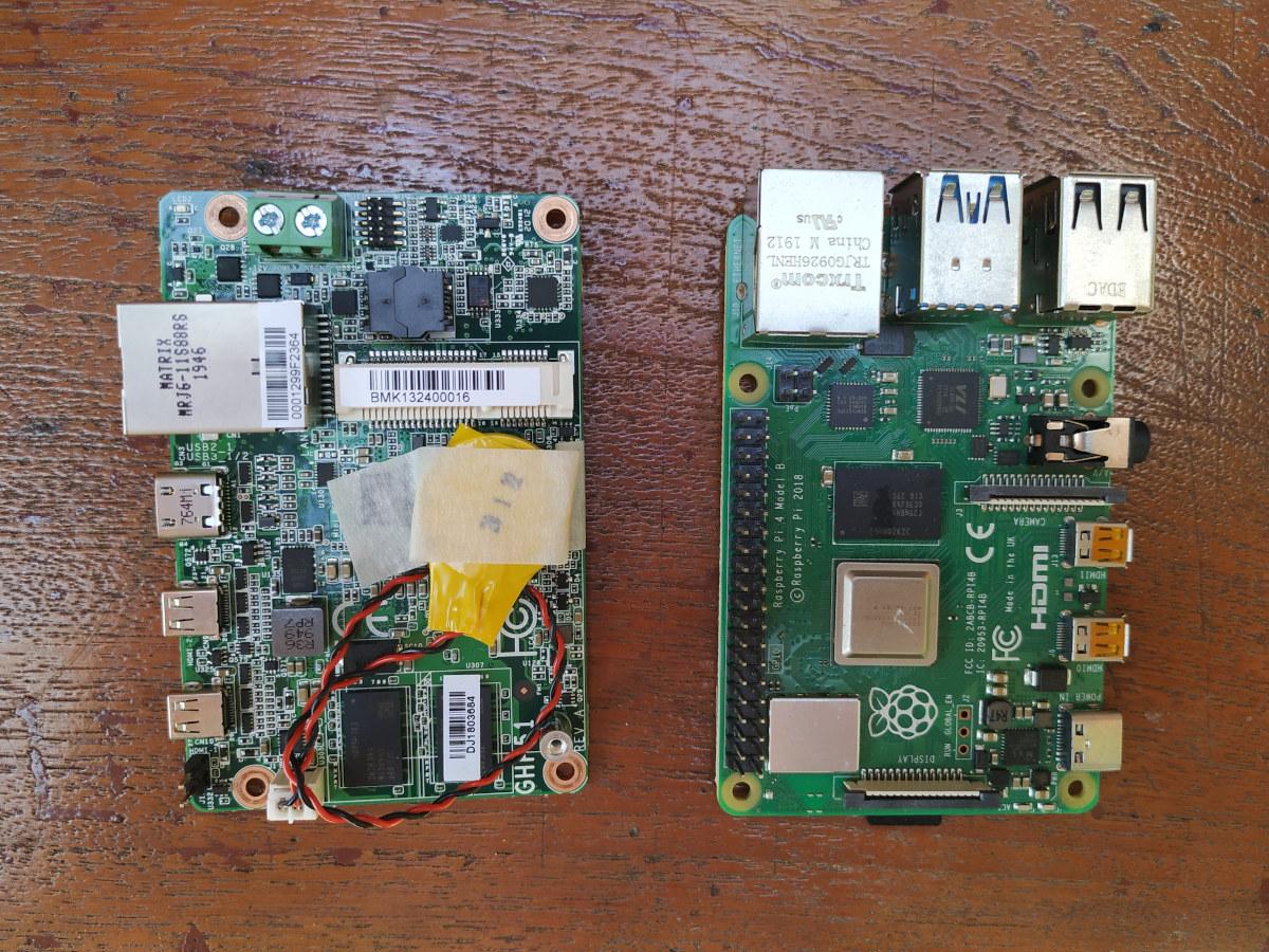 AMD Ryzen Embedded SBC vs Raspberry Pi 4