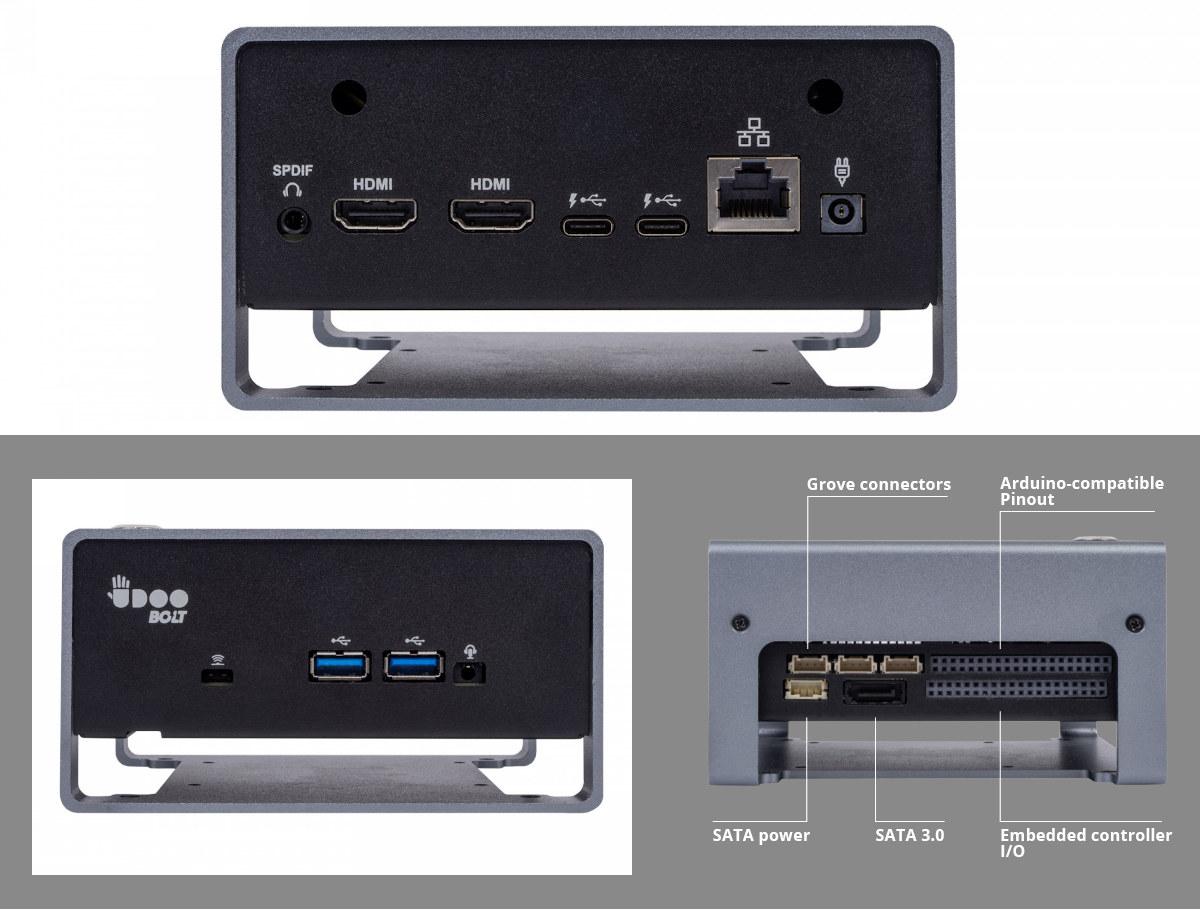 AMD Ryzen Embedded V1605B Mini PC