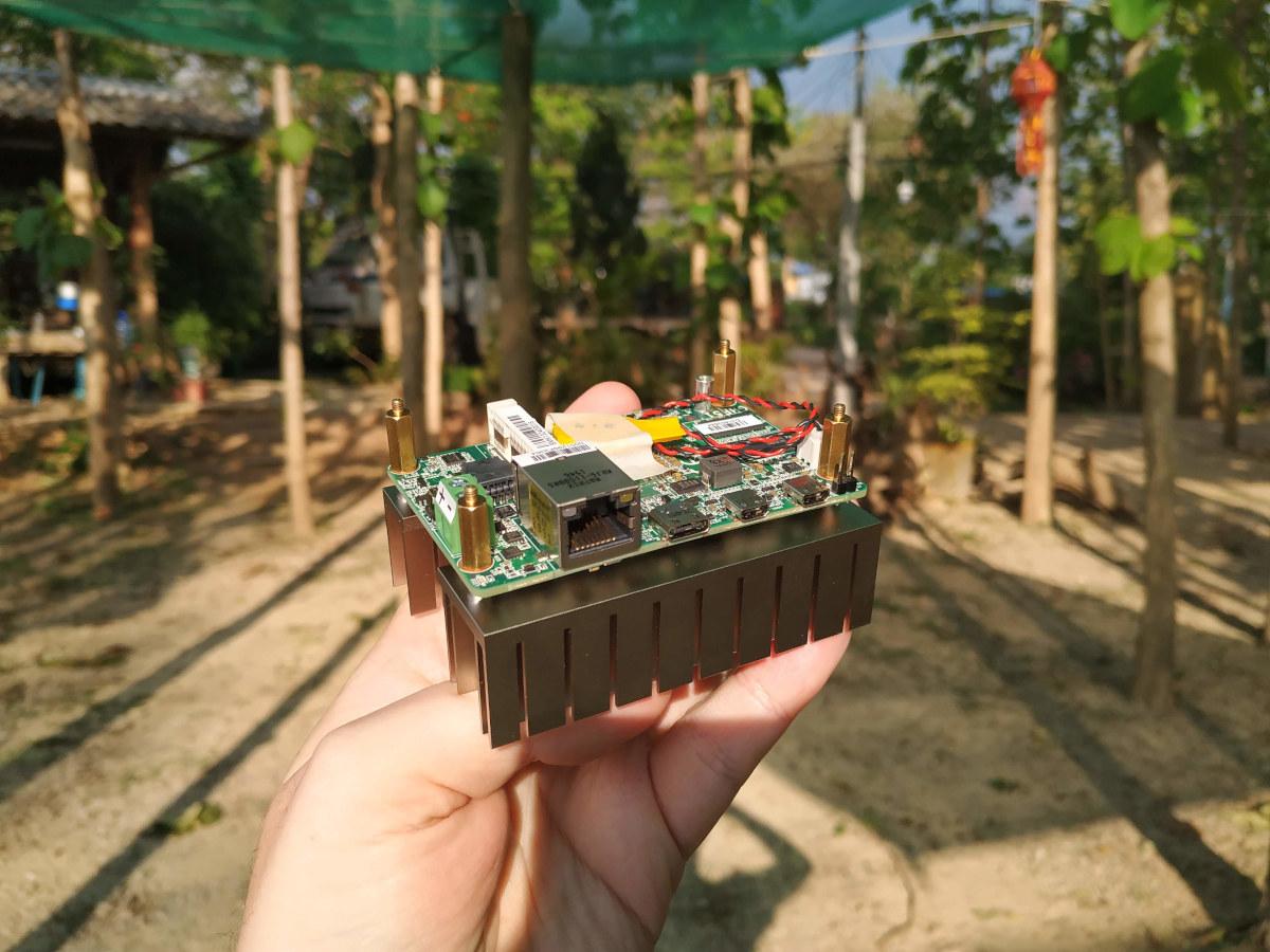 AMD Ryzen Raspberry Pi SBC Heatsink