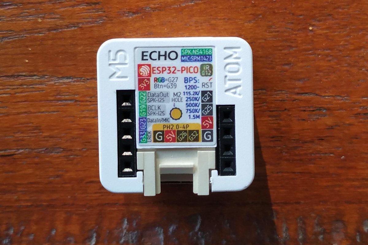 Atom Echo Pinout Diagram