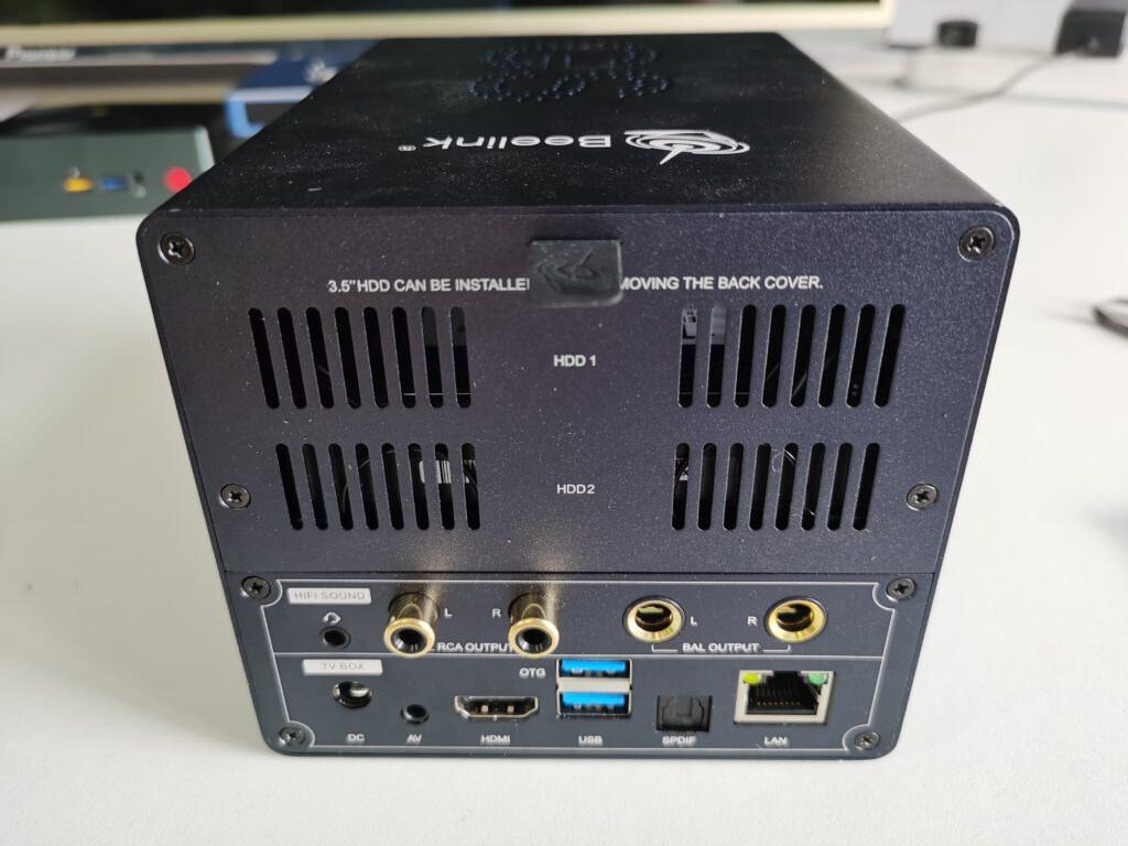 Dual SATA Bay TV Box NAS