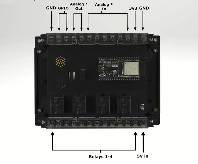 ESP32 Board Screw Terminals
