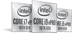 Intel Comet Lake Core VPro
