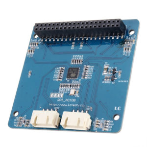 RPI_AC108 4-mic array for Raspberry Pi