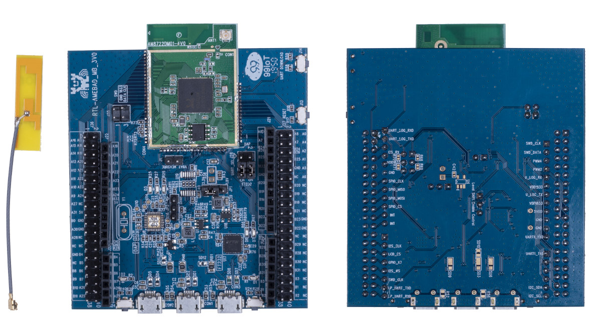 RTL8722DM Cortex-M33 Development Board