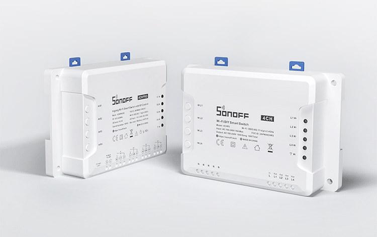 Sonoff 4CHR3 & 4CHPROR3