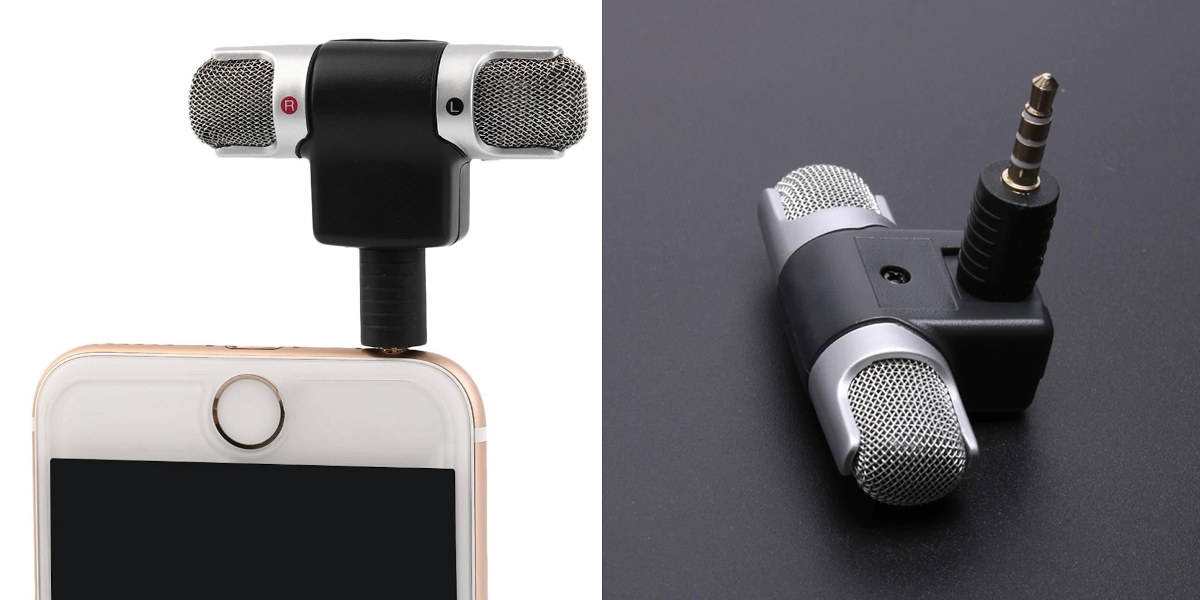 stereo microphone 3.5mm audio jack