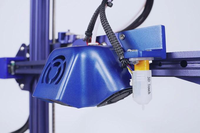 3D printer four fans auto-leveling system