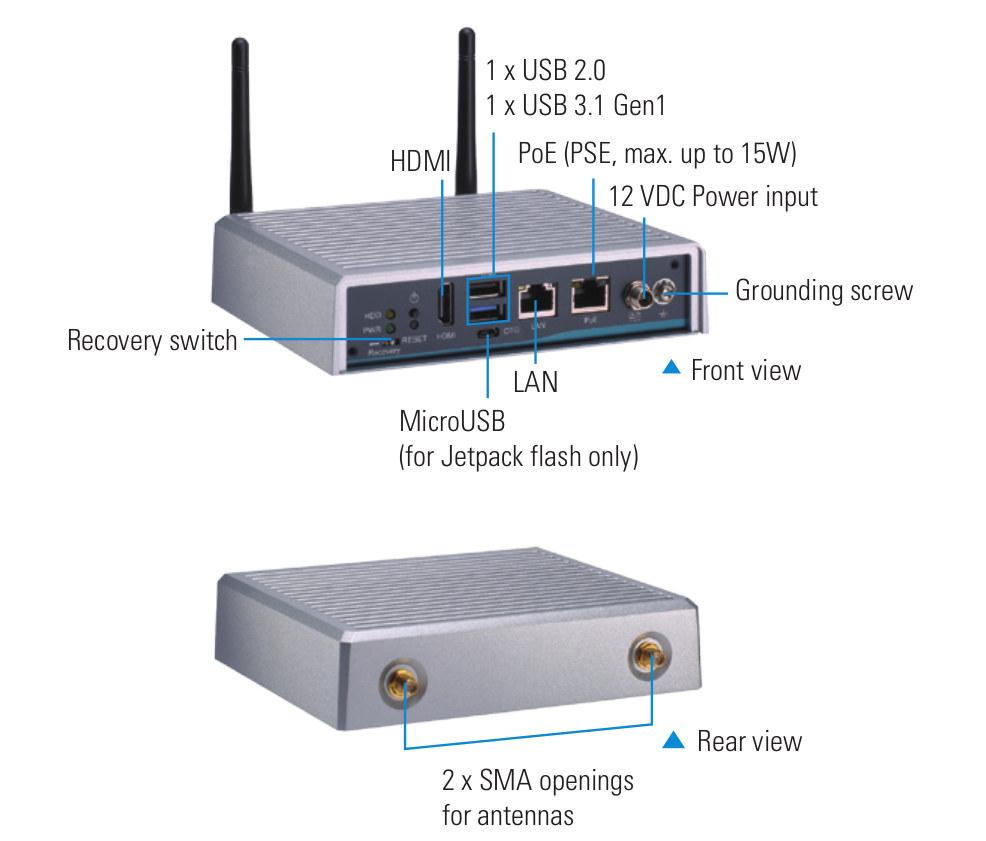 Axiomtek AIE100-903-FL edge AI system