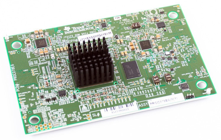 DRA829Vx evaluation module