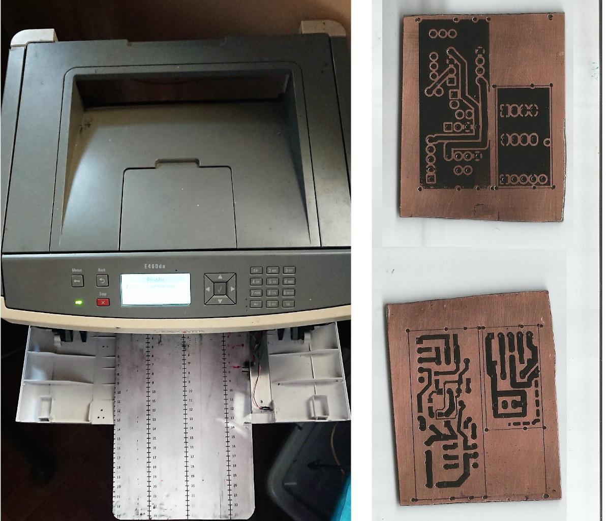Make PCB Lexmark Laser Printer