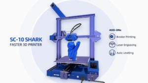 SC-10 Shark Faster 3D Printer