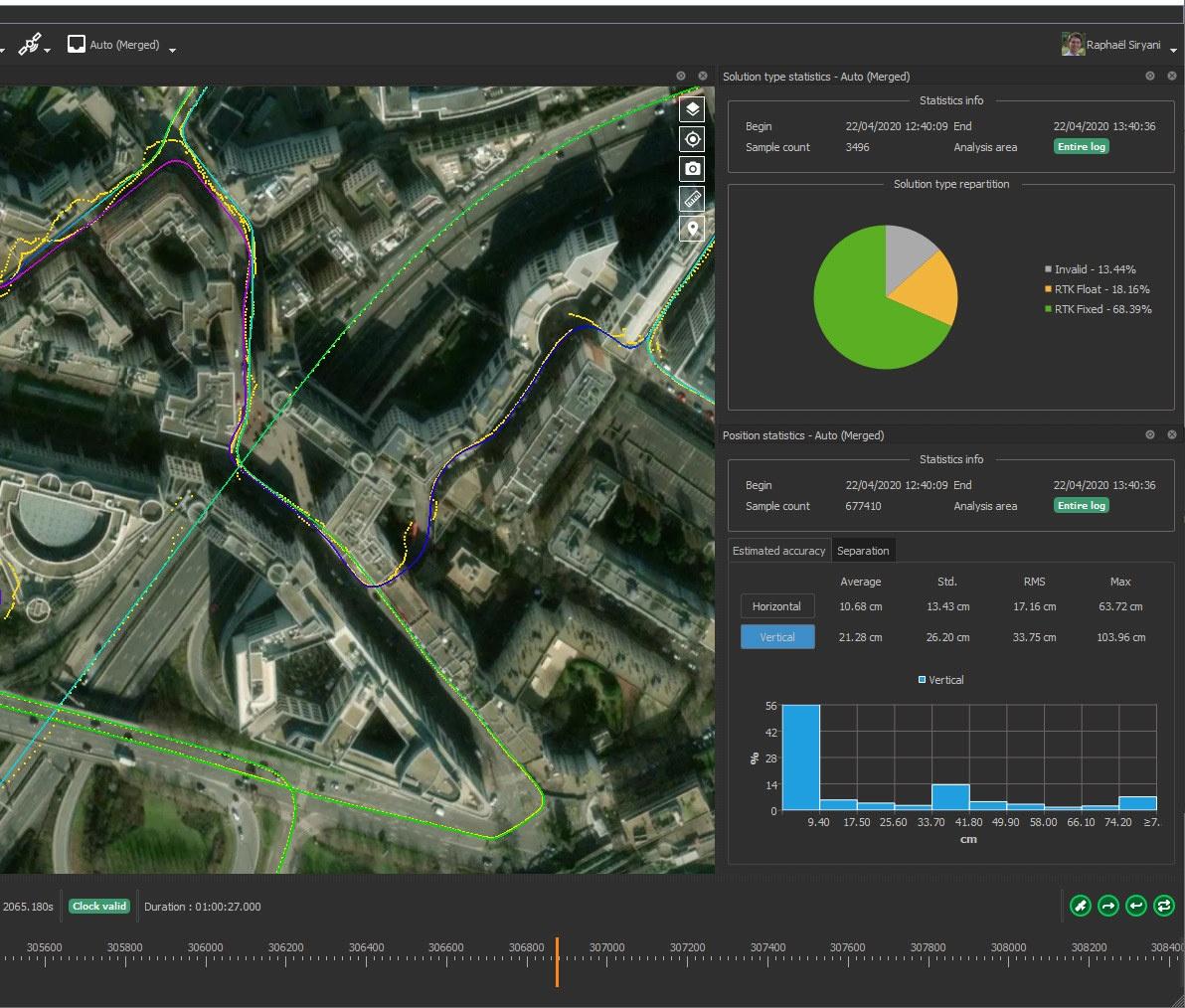 Qinertia Inertial navigation System Software